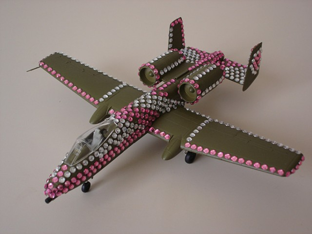 A-10 with Bling