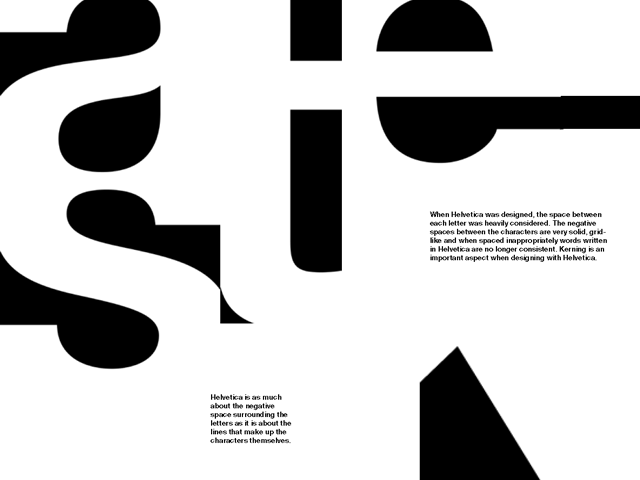 Type Book – introductory typography project
